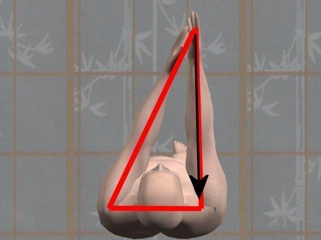 Kung Fu Triangle makes 3