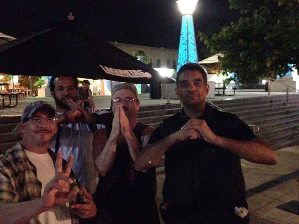 Kung Fu Friends Salute in Downtown Decatur - Atlanta, GA