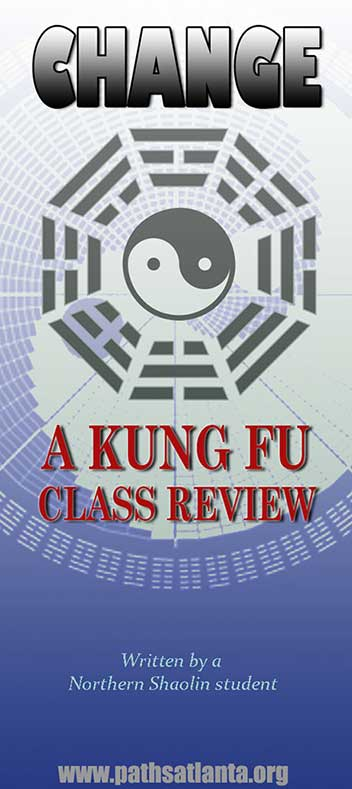 Change: A PATHS Atlanta Kung Fu Class Review