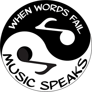 Yin Yang or Taijitu, showing Kung Fu Music: When words fail: Music Speaks
