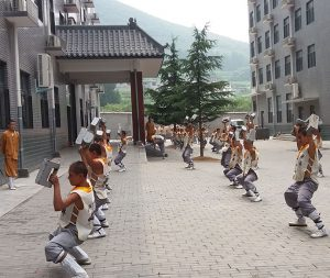 Luo Han Yuan Shaolin Kung Fu Training Grounds in China