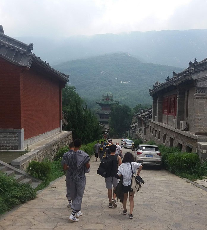 Shaolin Temple in China – Back Road headed to the demo!