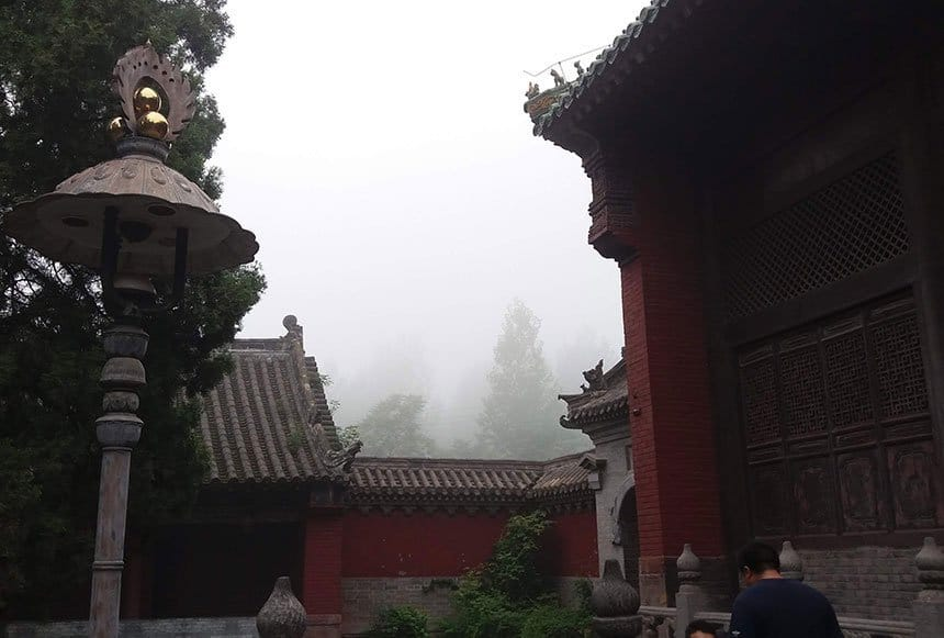 Mists @ Shaolin Temple, Henan, China