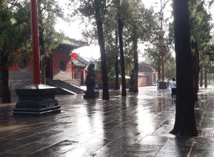Shaolin Temple -Rainy Day Kung Fu Training