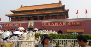Tiananmen Square in China