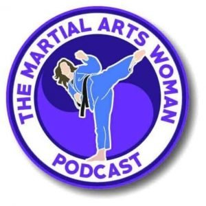 The Martial Arts Woman Podcast Logo