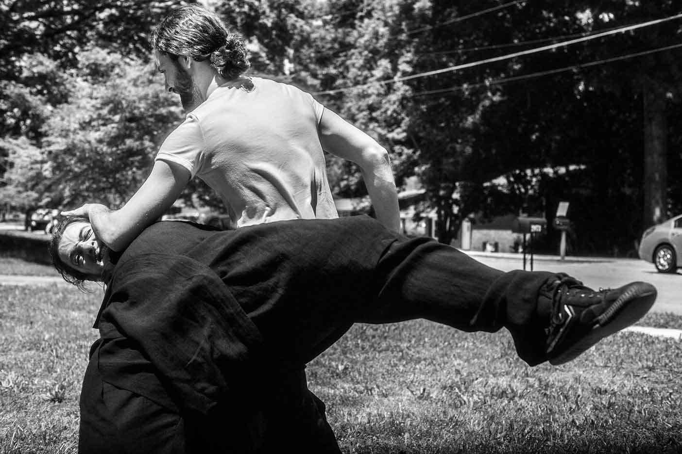 Atlanta Northern Shaolin Kung Fu Application with Bennett and Drew
